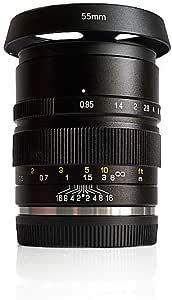 Zhongyi Mitakon Speedmaster 35 Mm F 0 95 Mark Ii Objektiv Für Canon Eos M Spiegellose