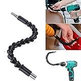 295mm Elettronica Drill nero flessibile albero Bits Estensione cacciavite Porta-inserti Collegare link # P00284 #