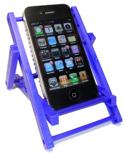 Kar@Kas * Handyhalter 69* Sonnenliege * Blau klappbar für IPHONE Sony Ericsson, Siemens, Nokia, LG