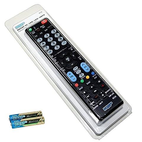 HQRP Fernbedienung fuer LG 32LF6309, 40LF6309, 43LF6309, 49LF6309, 55LF6309 Fernseher