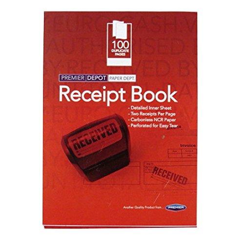 receipt book the best amazon price in savemoney es