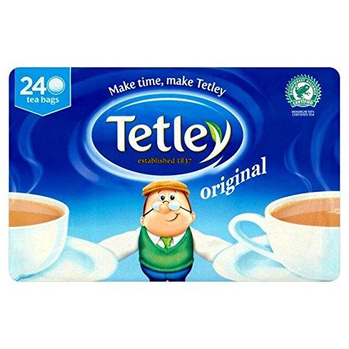 Tetley Sachets de thé 240 Tea Bags par