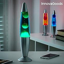 InnovaGoods Magma Lámpara de Lava, Verde