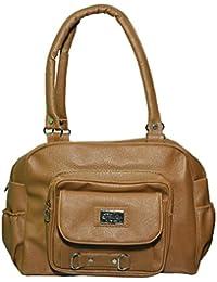 NIYANK Women's Stylish Handbag | Ladies Brown Bags | Brown Bag | Bag For Ladies | PU Leather Bag( Brown Bag )