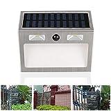 TianranRT CLED Solar Kraft Bewegung Sensor Wand Licht Outdoor Wasserdicht Garten Sicherheit Lampe Solarstrom Wandleuchte im Freien Wasserdichten
