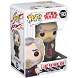 Star Wars - Figuara de vinilo: POP! Bobble: Star Wars: E8 TLJ: Luke Skywalker