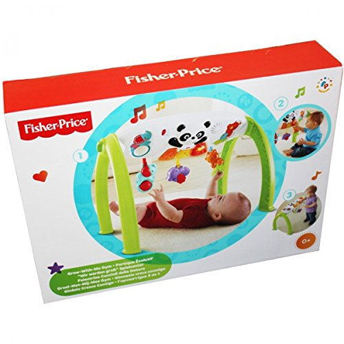 Mattel Y6588 Fisher Price Spielcenter Panda ab 6 Monaten Spielbogen Motorik Mobile Baby Kinder NEU