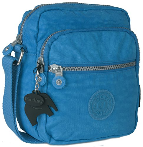 Big Handbag Shop - Borsa a tracolla unisex Sky Blue