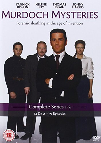 Murdoch Mysteries: Complete Series 1 - 3 [14 DVDs] [UK Import]