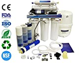 Finerfilters, unità per depurazione dell'acqua a osmosi inversa, in 5fasi, per uso domestico, con pompa