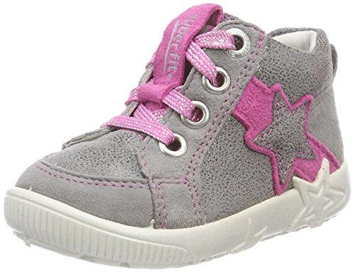 Superfit Baby Mdchen Starlight Sneaker, Grau (Smoke Kombi), 24 EU