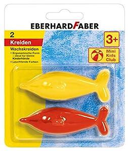 Eberhard Faber 523102 - Mini Club para niños, lápices de Colores en Forma de un delfín, clasificado