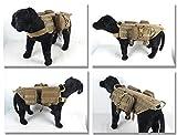 Training Dog MOLLE Geschirr Weste Outdoor Militär Hund Tasche SE