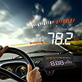 Best alarme de voiture Audew - Audew X5 HUD Indicateur de vitesse avec projecteur Review