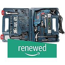 (Renewed) Bosch GSB 13 RE Reversible Professional Impact Plastic Drill, 600 watts, 13mm (Green)