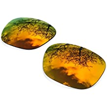 Combo Polarized Replacement Lenses for Oakley Holbrook ( Fire Iridium+ Sapphire Green )