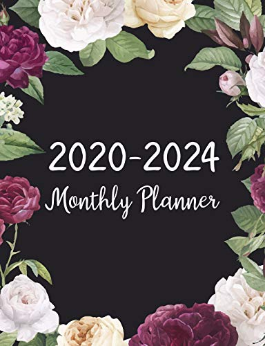 2020-2024 Monthly Planner: Five Years Monthly Planner (60 Months Calendar) For To Do List Journal Notebook | Academic Schedule Agenda Logbook Or ... Weekly & Monthly Planners Holidays, Band 9)