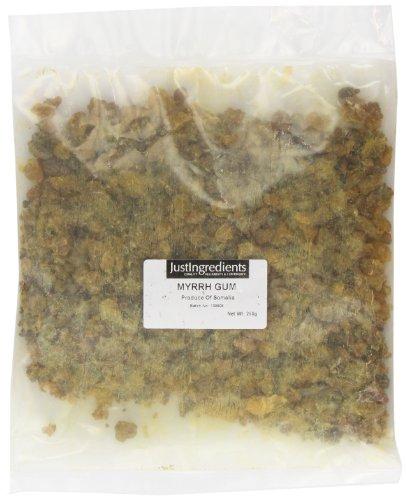 JustIngredients Essential Myrrhe-Harz, 1er Pack (1 x 250 g) (Myrrhe Gum)