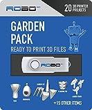 Robo 3d packoffice Certificado impresión Pak con 20, archivos de diseño 3d diseño de oficina, 1