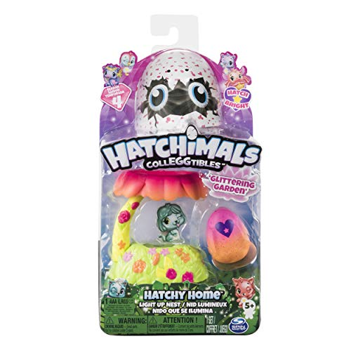 Hatchimals 6044124 Colleggtibles Light up Nest Garden Spielzeug