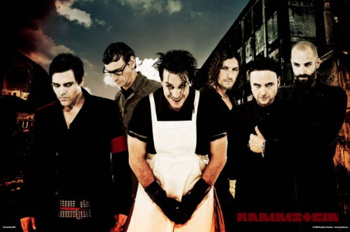Empire 326560 Rammstein Band - Poster 91,5 x 61 cm