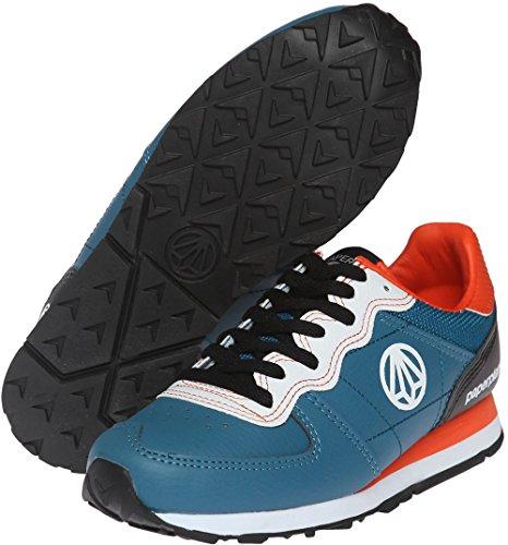 Paperplanes - 1160 Unisex Fashion Chaussures de sport Baskets en cuir robuste Bleu - bleu