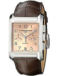 Baume-et-mercier Hampton Homme 34mm Chronographe Automatique Date Montre 10031