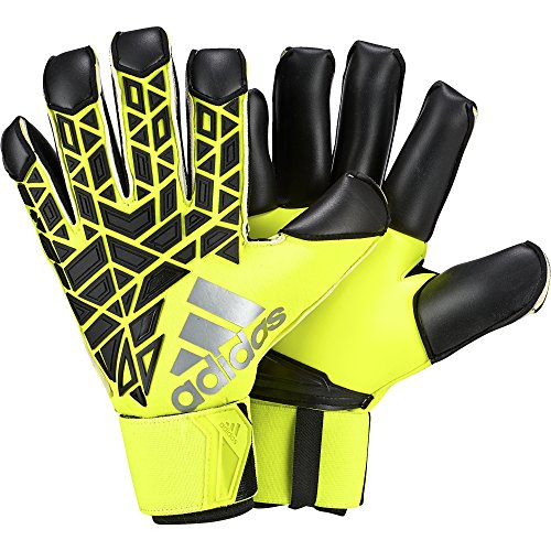 Adidas Pro Predator Torwart Handschuhe (adidas ACE FT Promo - Torwart-Handschuhe für Herren, Farbe Gelb, Größe 10)