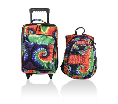 obersee-kids-luggage-and-backpack-set-with-integrated-cooler-tie-dye-by-obersee