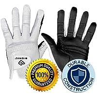 Bionic Gloves RELAXGRIP 2.0 Guante de Golf, Hombre, Blanco, Men's Medium Large