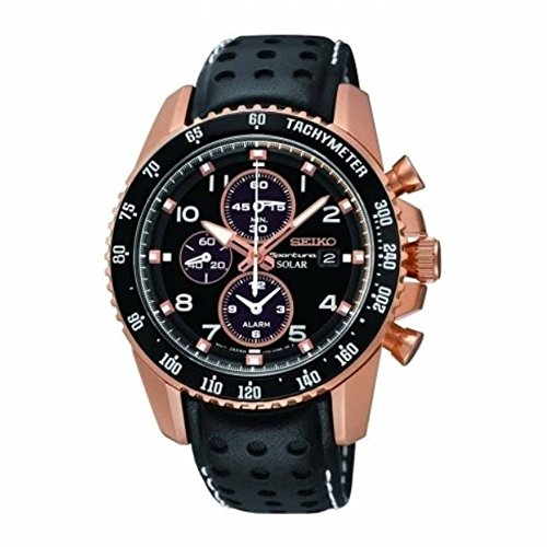 seiko-sportura-mens-black-leather-chronograph-watch-ssc274p9
