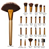 Allin Exporters Makeup Brushes 24pcs Qua...