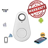 Lambent Wireless Bluetooth 4.0 Anti-lost Anti-Theft Alarm Device Tracker GPS Locator Key/Dog/Cat/Kids/Wallets Finder Tracer w/ Camera Remote Shutter & Recording for Smartphone (Multi-colour) by Premium Design
