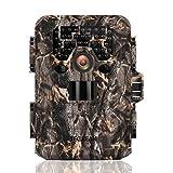 TEC.BEAN Wildkamera Jagdkamera, 12MP 1080P Full HD Keine Glow Infrarot Wildlife Kamera mit Nachtsicht bis zu 23M / 75ft, 36pcs 940nm IR LEDs und IP66 Wasserdichte Überwachung Trail Cam