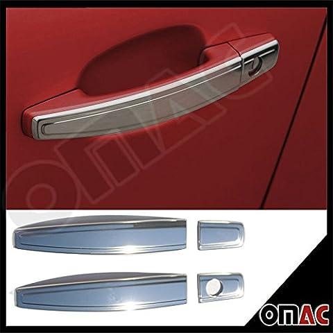 OPEL ASTRA H GTC & J Corsa D Tigra B 3TRG Chrome de poignées de porte 4Enjoliveurs V2A Deco de s