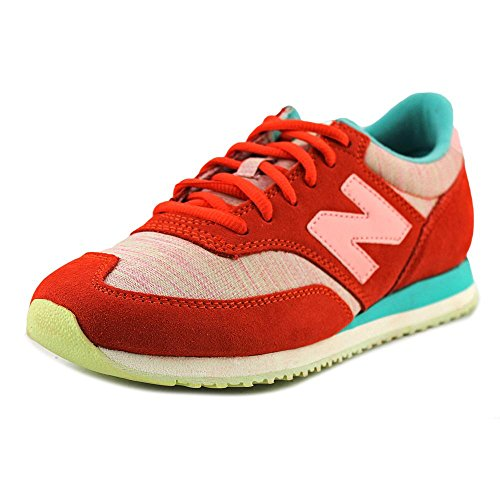 New Balance Classics Traditionnels Orange Womens Trainers