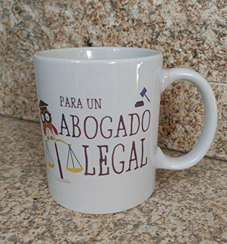 TAZA FRASE ' PARA UN ABOGADO LEGAL' REGALO PARA ABOGADO.TAZA ORIGINAL