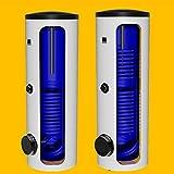 400 Liter L Warmwasserspeicher mit 1oder 2 Wärmetauscher indirekt beheizt Boiler Standspeicher Trinkwasserspeicher (400 liter mit 1 WT)