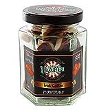 Wendy's Candies - Candy sweet - caramelle Humbugs specialità inglese - dolciume classico rivisitato in questo Irish Coffee cocktail - Fabbricazione artigianale - I love You - Regalo ti amo - Ref LIC