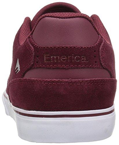 Emerica The Reynolds Low Vulc Red/white/gum Red/white/gum
