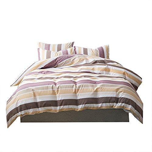 Umi. Essentials Bettbezugsset mit zwei Kissenbezügen aus reiner, garngefärbter Baumwolle