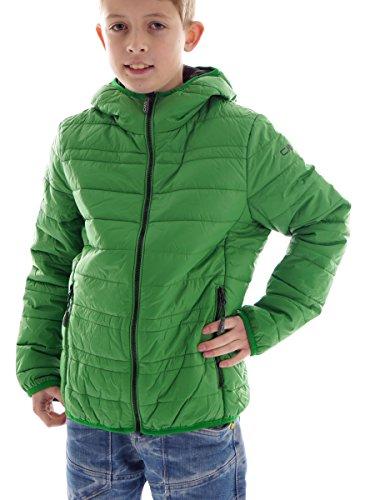 Preisvergleich Produktbild CMP Jacke Übergangsjacke Steppjacke grün Kapuze Zipper Taschen warm