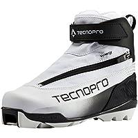 TECNOPRO LL–Zapatillas Safine Synergy Pilot, color blanco, negro, plateado, tamaño 7,5