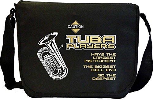 Tuba Biggest Bell End - Musik Noten Tasche Sheet Music Document Bag MusicaliTee
