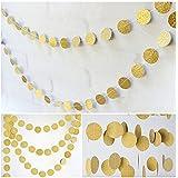 Vorcool 2 Stücke 2 Mt Gold Stern Girlande Glitzer Girlande Banner Für Hochzeit Geburtstag