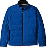 Nautica Men's Quilted Down-Blend Jacket,...