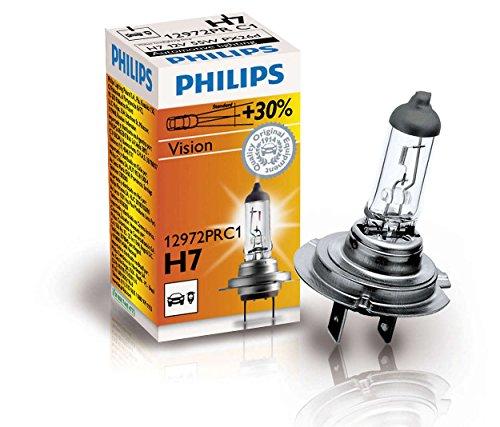 Ring Automotive P12972PR - Bombillas halógenas para faros delanteros (12 V, 55 W, H7 Philips)
