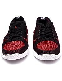 Menter Sports Designer Casual Canvas/Mesh Shoes for Men, Maroon
