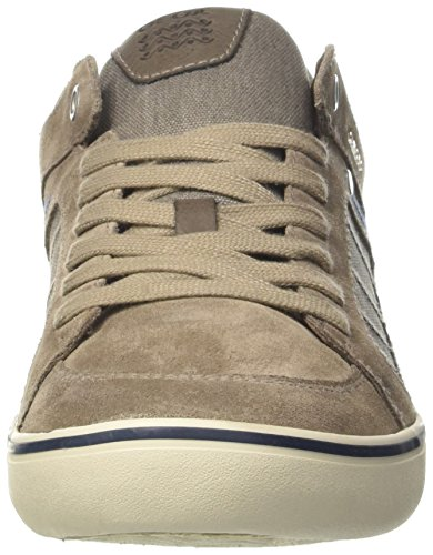 Geox U Box F, Baskets Basses Homme Beige (Taupec6029)