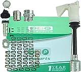 Para Focus C-Max 2003 - 2007 Kit de reparación de cilindro de bloqueo/cerradura del capó 1343577 Set